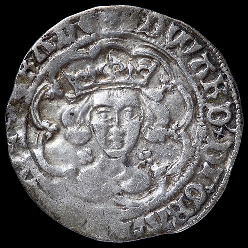 Edward IV, First Reign, 1461-70. Groat, mm. Sun. London Mint. Missing Fleur.