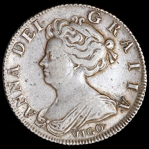 Anne, 1702-14. Shilling, 1703. Vigo.