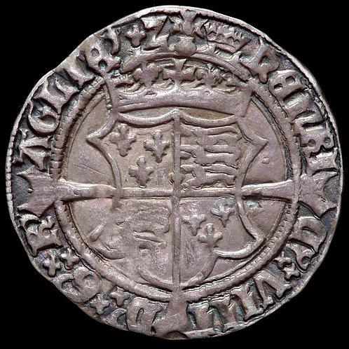 Ireland. Henry VIII, 1509-47. Groat, mm. Crown. Under Henry And Jane Seymour.