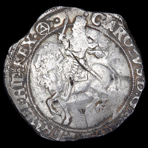 Charles I, 1625-49. Halfcrown, mm. Triangle In Circle, 1641-3. Group IV.