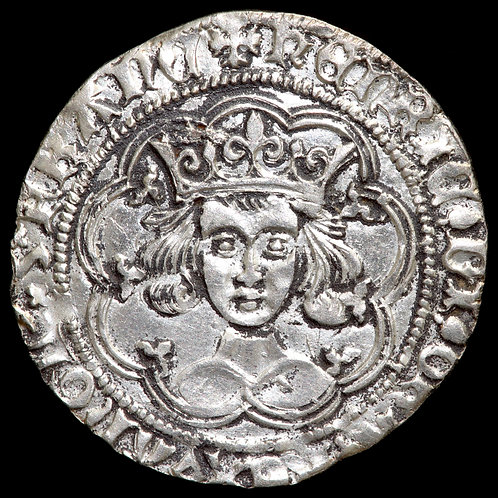 Henry VI, First Reign, 1422-61. Groat. Pinecone-Mascle Issue, 1431-32/33.
