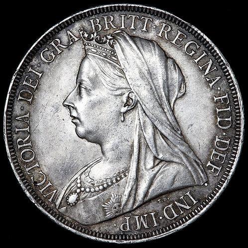 Victoria, 1837-1901. Crown, 1897. LXI Edge.