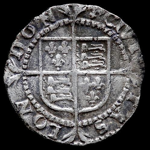 Elizabeth I, 1558-1603. Penny. Second Issue, 1560-61. mm. Cross Crosslet.