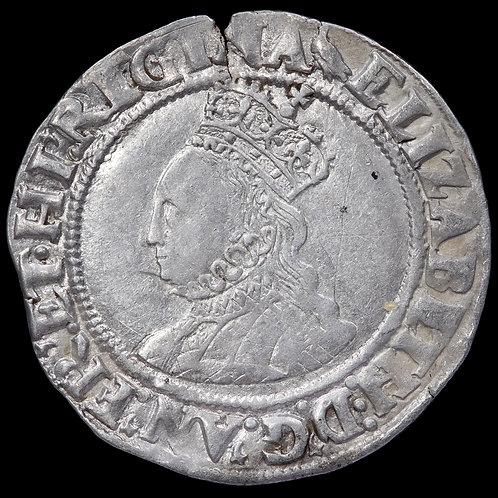Elizabeth I, 1558-1603. Shilling, mm. Martlet, 1560-61.