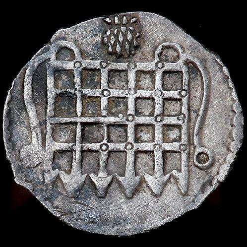 James I, 1603-25. Halfpenny, mm. Thistle, 1603-4.