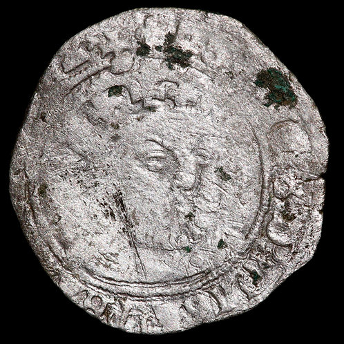 Henry VIII, 1509-47. Groat. Third Coinage, 1544-7. Tower Mint, mm Lis. Bust II.