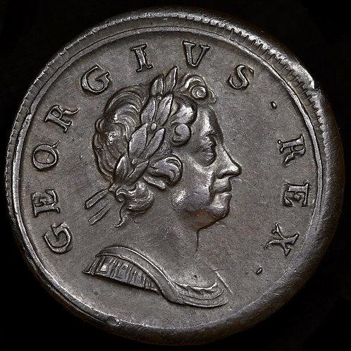 George I, 1714-27. Dump Halfpenny, 1718.