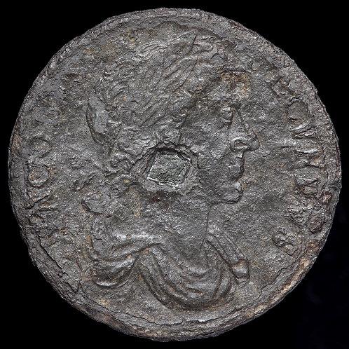 James II, 1685-88. Tin Halfpenny, 1685-87.