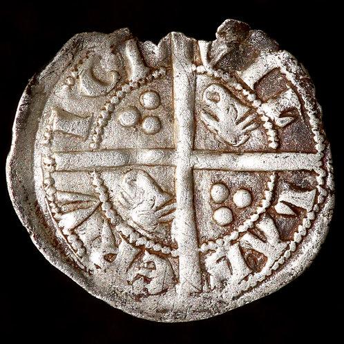 Edward III, 1327-77. Halfpenny. First Coinage, 1327-35. Berwick.