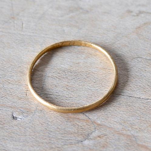George III Hallmarked Gold Finger Ring, 1785.