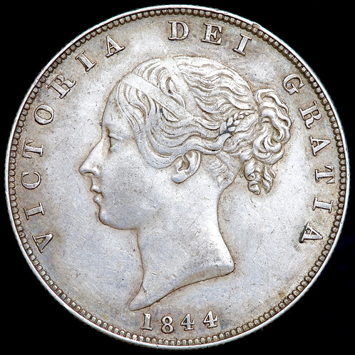 Victoria, 1837-1901. Halfcrown, 1844.