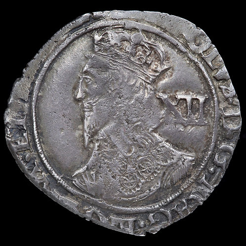 Charles I, 1625-49. Shilling, mm. Eye, 1645. Tower Mint Under Parliament.