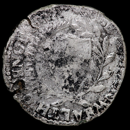 The Commonwealth, 1649-60. Contemporary Forgery Halfcrown, 1653. Silver washed.