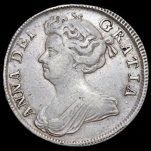 Anne, 1702-14. Halfcrown, 1707. SEPTIMO Edge.