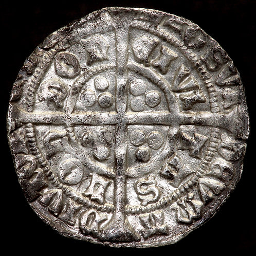 Edward IV, First Reign, 1461-70. Groat. Light Coinage, 1464-70. London Mint.