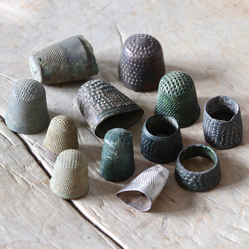 Medieval And Later Thimbles, 15th-19th Centuries.