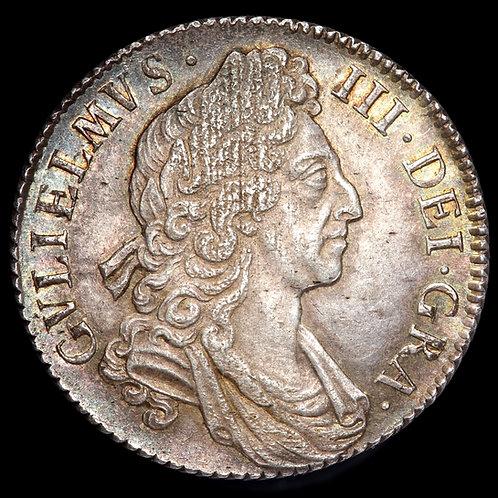 William III, 1689-1702. Shilling, 1697.