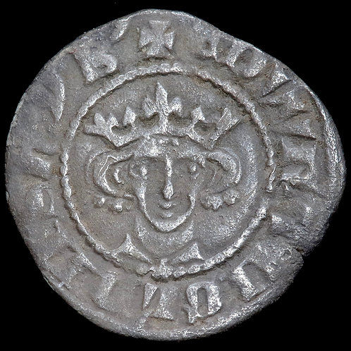 Edward I, 1272-1307. Penny. York Mint. Class 9b. Star On Breast.