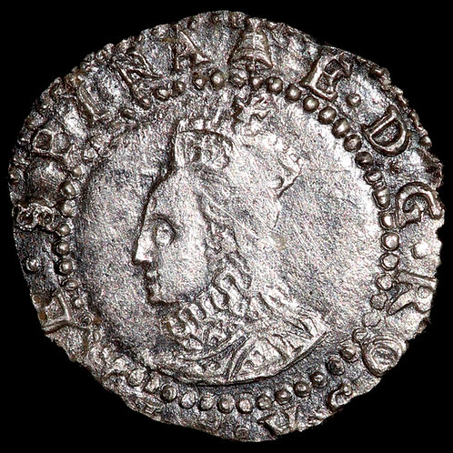 Elizabeth I, 1558-1603. Penny. Fifth Issue, 1578-82. Tower Mint, mm. Bell.