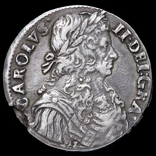 Scotland. Charles II, 1649-85. Silver Merk (13s 4d), 1671.