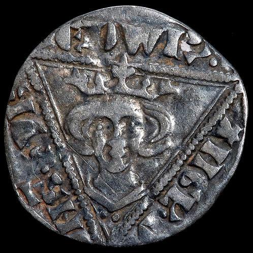 Edward I As King, 1272-1307. Penny. Dublin Mint. Pellet After EDWR.