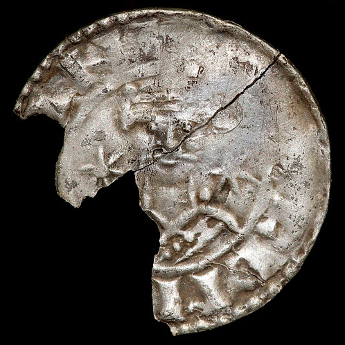 Anglo-Saxon. William I, 1066-87. Penny. Two Stars Type. Possibly Thetford Mint.