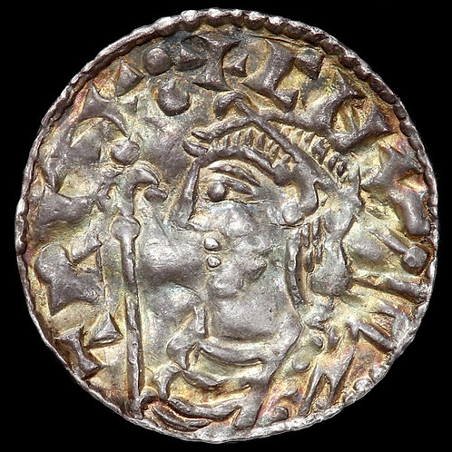 Cnut (Canute), 1016-35 A.D. Penny. Short Cross Type. Stamford Mint.