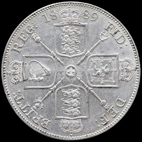 Victoria, 1837-1901. Double Florin, 1889.