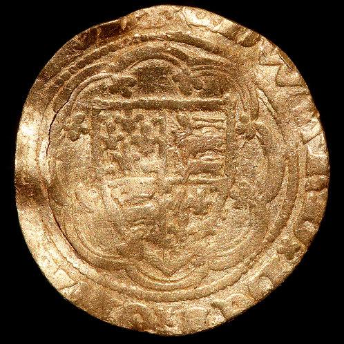 Edward III, 1327-77. Quarter Noble. Treaty Period, 1361-69. London Mint.