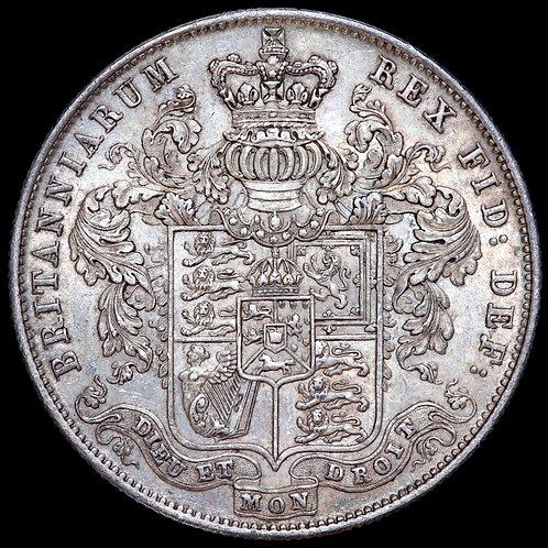 George IV, 1820-30. Halfcrown, 1825. Third Reverse.