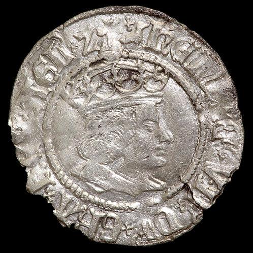 Henry VII, 1485-1509. Halfgroat. York Mint under Archbishop Bainbridge.