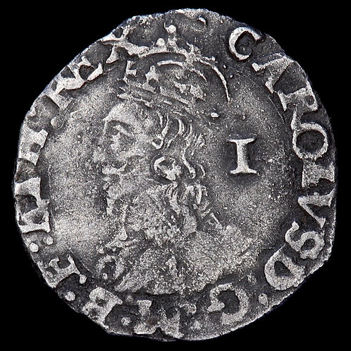 Charles I, 1625-49. Penny. Tower Mint