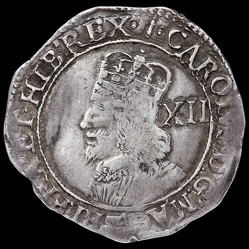 Charles I, 1625-49. Shilling, mm. Sceptre, 1646-8. Tower Mint Under Parliament