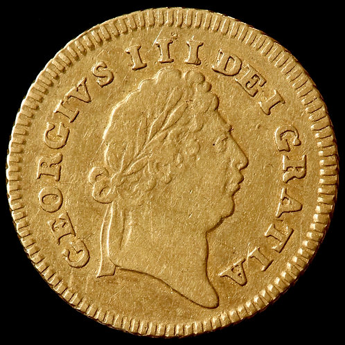 George III, 1760-1820. Third-Guinea, 1802.