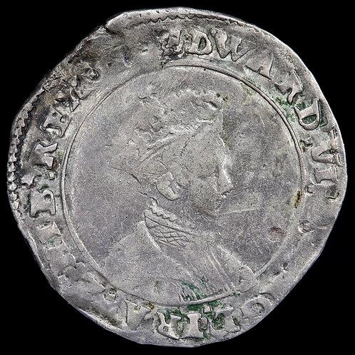 Edward VI, 1547-53. Shilling, mm. Y, 1551. Southwark Mint.