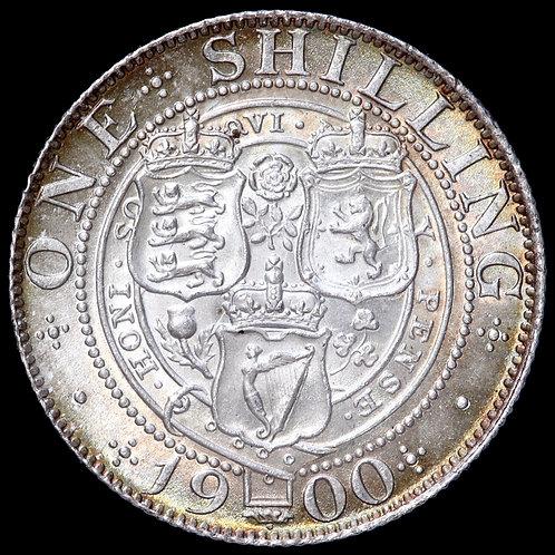 Victoria, 1837-1901. Shilling, 1900.