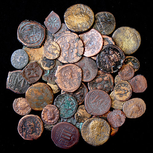 Roman And Byzantine Empire. Research Group Of Mixed AE Denominations. (45 Coins)