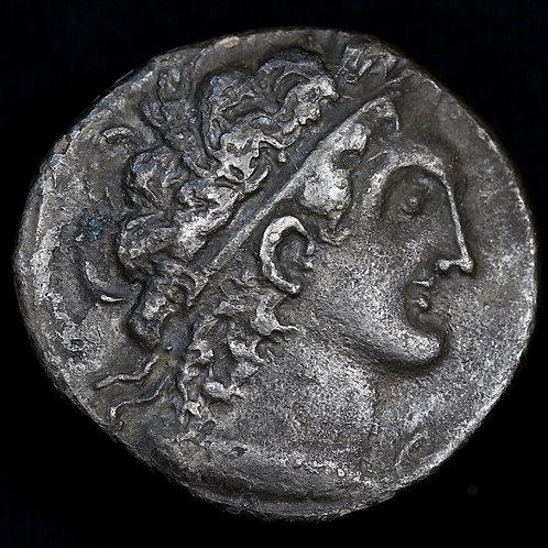 Egypt, Ptolemic Dynasty, Ptolemy X. Tetradrachm, c.80 B.C. Alexandria Mint.