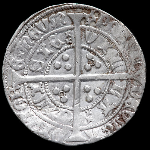 Henry VI, First Reign, 1422-61. Groat. Annulet Issue, 1422-30. Calais Mint.
