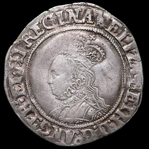 Elizabeth I, 1558-1603. Shilling, mm. Martlet, 1560-61. Second Issue.