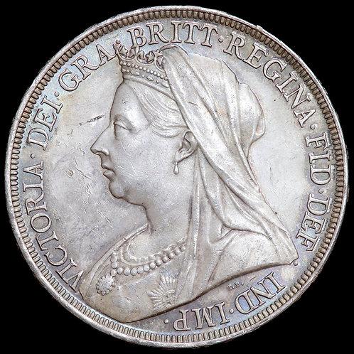 Victoria, 1837-1901. Crown, 1897. LX Edge.