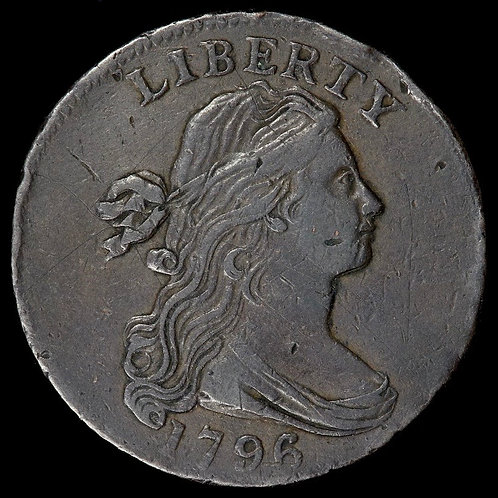 United States Of America. Large One Cent, 1796. Draped Bust.