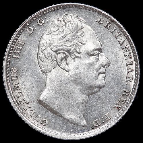 William IV, 1830-37. Sixpence, 1831.