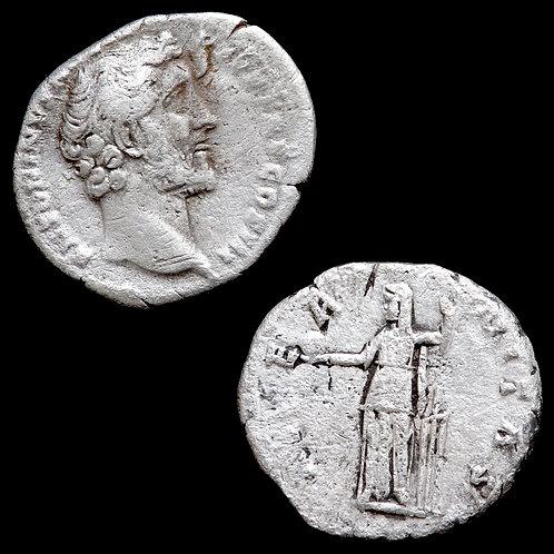 Roman Empire. AR Denarius. (2 Coins)
