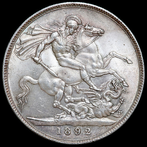 Victoria, 1837-1901. Crown, 1892.