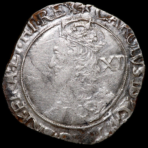 Charles I, 1625-49. Shilling. Tower Mint Under The King, 1625-42. mm, Star.