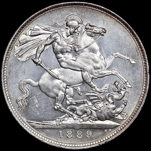 Victoria, 1837-1901. Crown, 1889.
