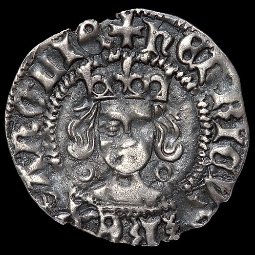 Henry VI, First Reign, 1422-61. Penny, mm. Plain Cross, 1422-27. Calais Mint.
