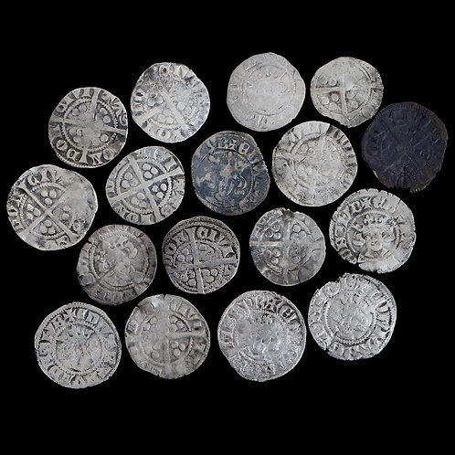 Medieval Pennies, 13/14th Century. (17 Coins)