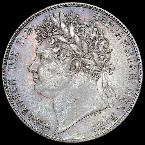 George IV, 1820-30. Halfcrown, 1820. First Reverse.